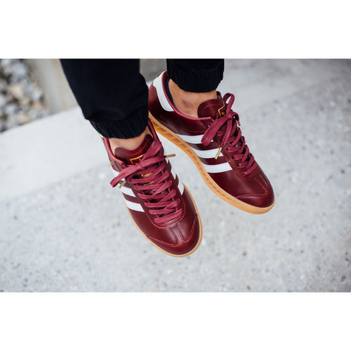 Adidas Originals Hamburg Red Leather
