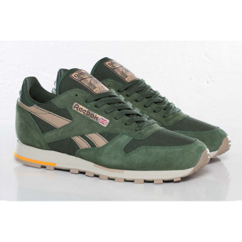 Reebok Classic Leather Utility Olive Green