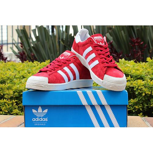 Adidas Originals Superstar Half-Shell Red