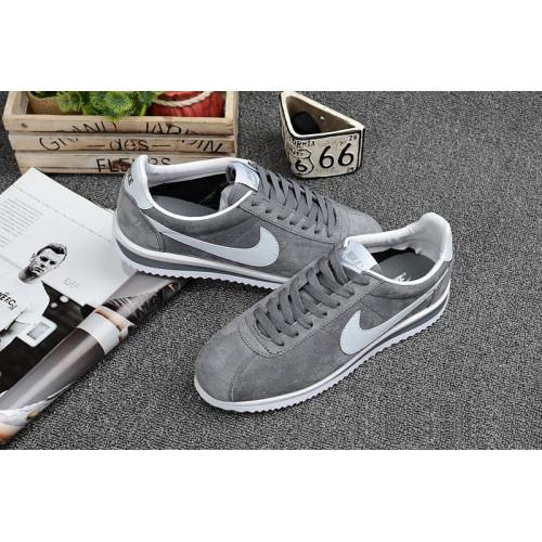 Nike Classic Cortez Suede Grey