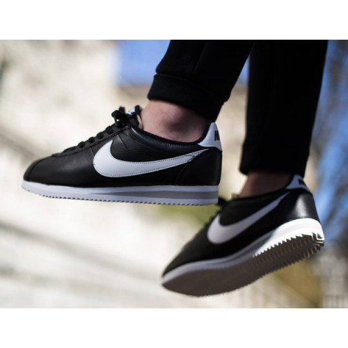 Nike Classic Cortez Black White