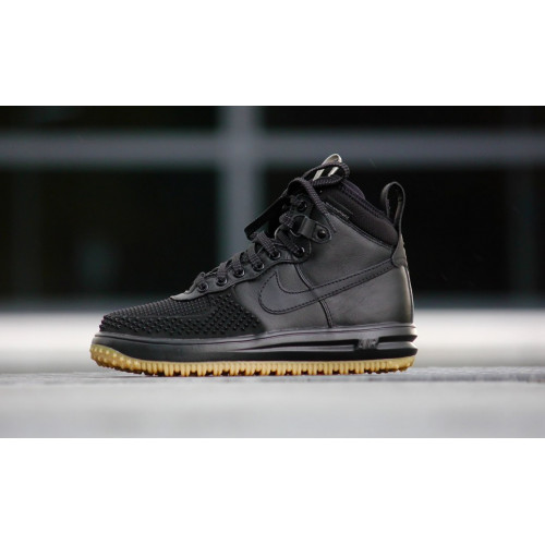 NIKE LUNAR AIR FORCE 1 DUCKBOOT BLACK GUM