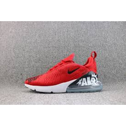 Nike Air Max 270 Flyknit Moves You October Red White Black